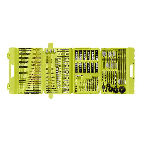Multi-Material Drill and Drive Kit (300-Piece) with Case