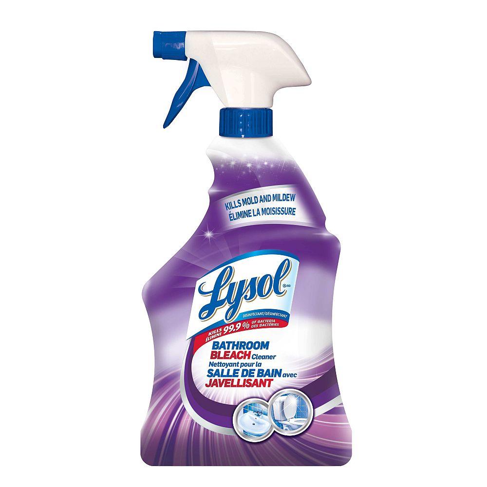 Lysol Spray nettoyant de salle de bains, javellisant pour salle de bains, 950 ml, anti-moisissure