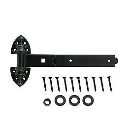 """Everbilt 12"""" Charnière en T à usage intensif, Noir, 1pc"""