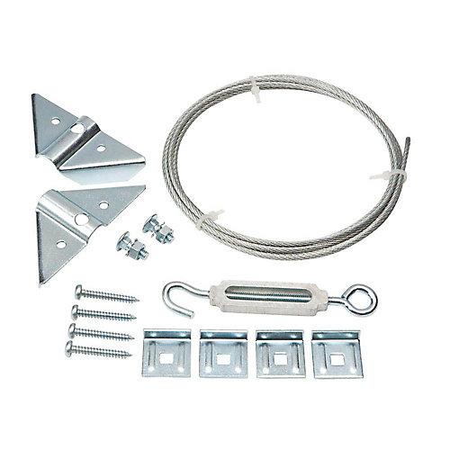 Kit anti-affaissement anti-rouille galvanisé - 1 pqt