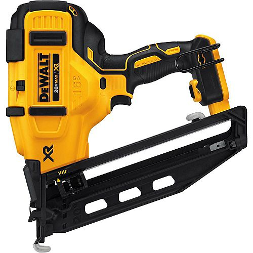 20V MAX XR Lithium-Ion Cordless 16-Gauge Angled Finish Nailer (Tool-Only)