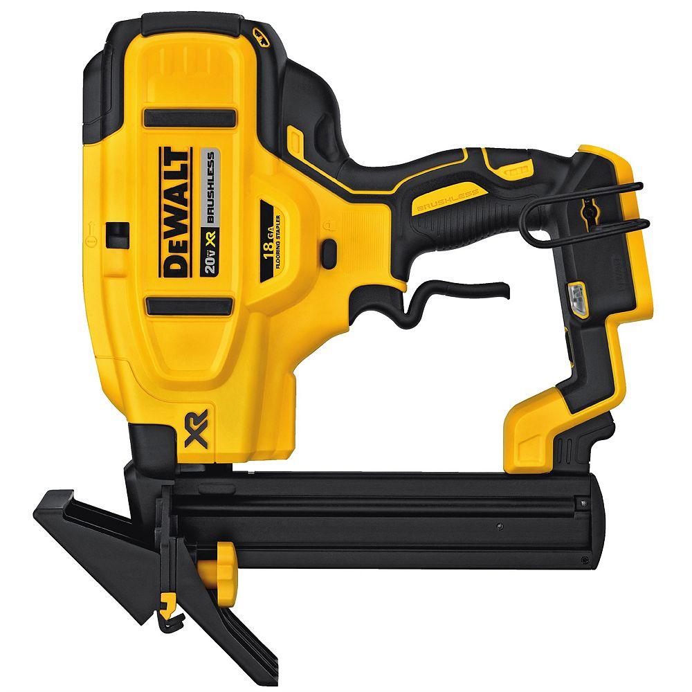 DEWALT 20V 18-Gauge Flooring Stapler