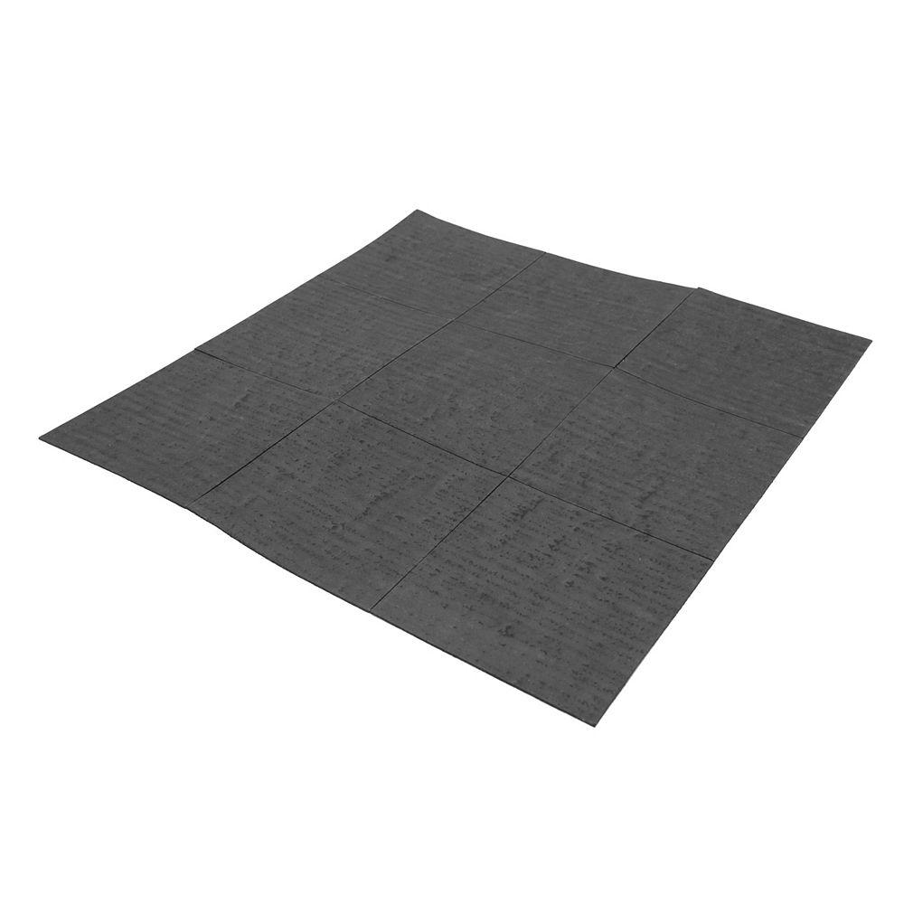 Sinkology Kitchen Sink Sound Dampening Kit 6-inch x 6-inch 70 mil 9 Pads per Kit