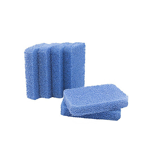 Breeze Non-Scratch and Odor Resistant Silicone Scrubber Sponges (6-Pack)