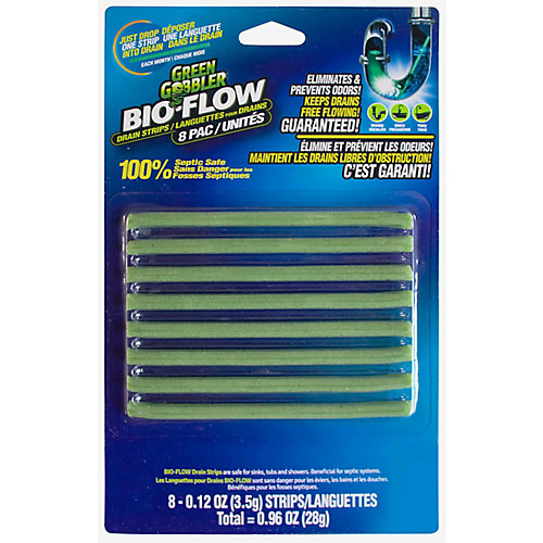 Green Gobbler Bio Flow Drain Strips (8-Strips)