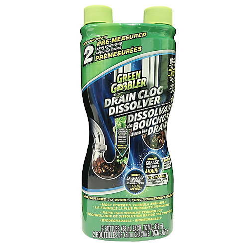 Dissolve Hair and Grease Clog Remover