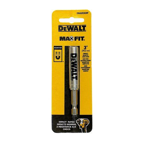 DEWALT MAXFIT 3 pouces x 1/4 pouce Impact Driver