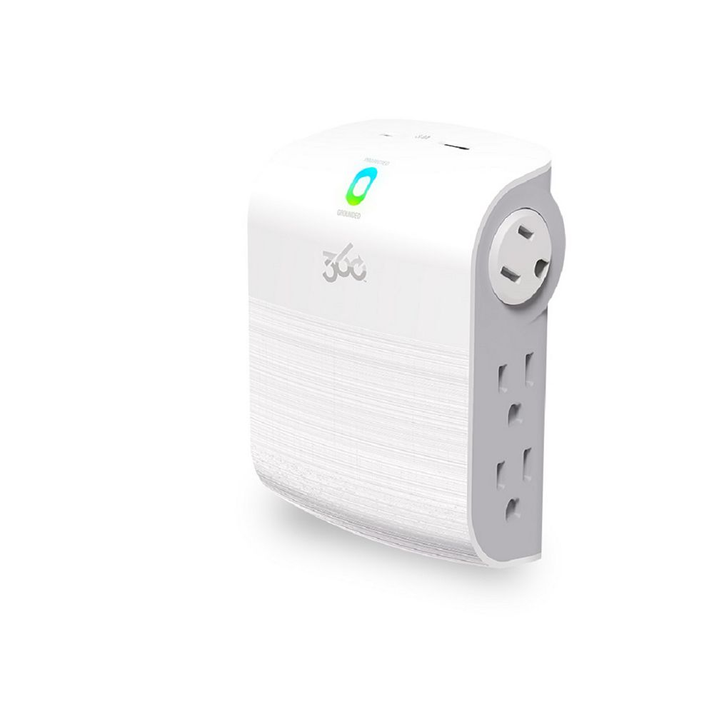 360 Electrical SideLine2.4 Surge Protector w/USB