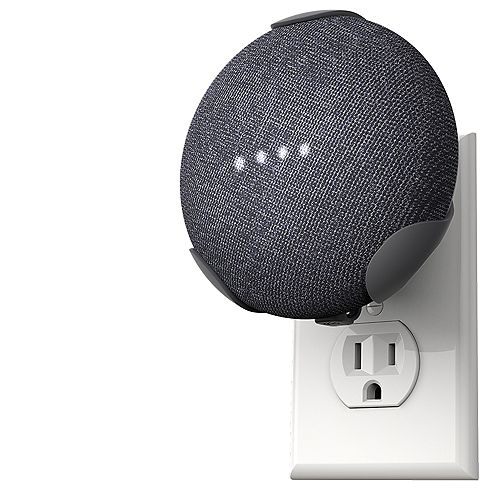 PowerClip Google Home Mini -Charcoal