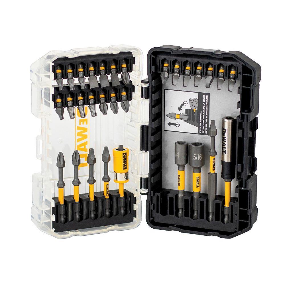 DEWALT MAX Impact Steel Screwdriving Set (31 Piece)