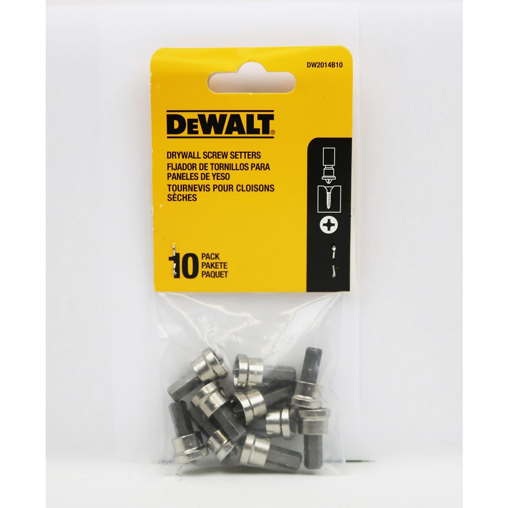 DEWALT Drywall Screw Setter (10PK)