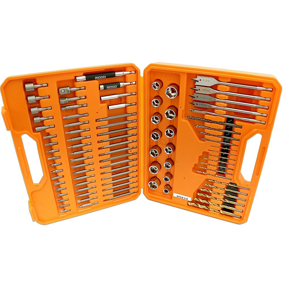 RIDGID Drilling and drive kit (90 pieces)