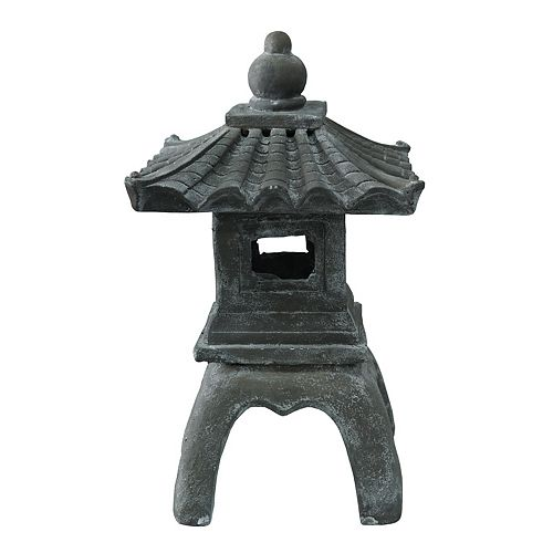 Pagoda Statue, 24.5 inch. Tall