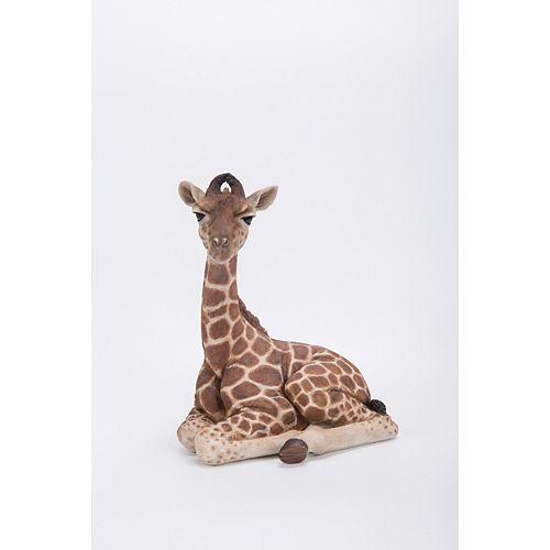 Hi-Line Gift Giraffe Laying Sown Statue