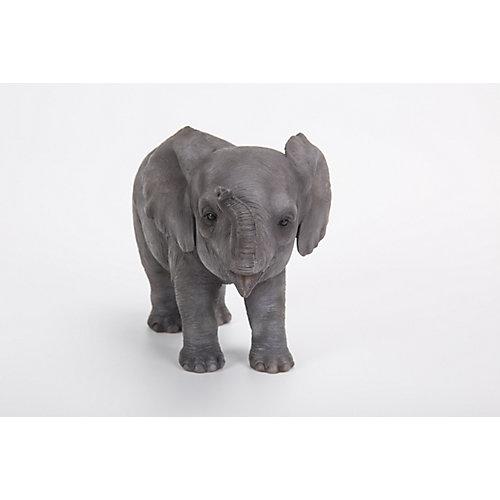 Elephant Baby Standing Statue