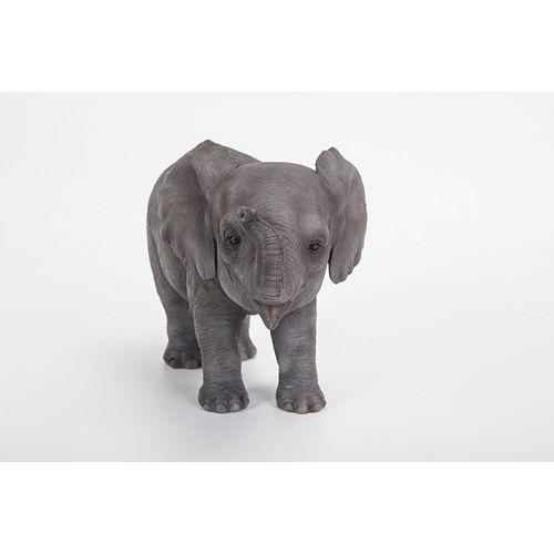 Hi-Line Gift Statue de bébé éléphant debout