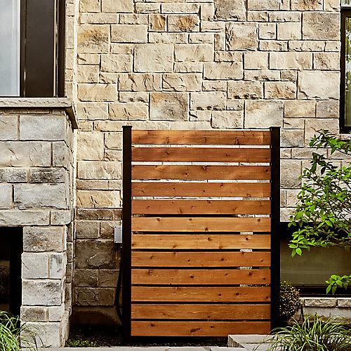 Kit A - 2 poteaux d'extrémité et pièces pour clôtures et