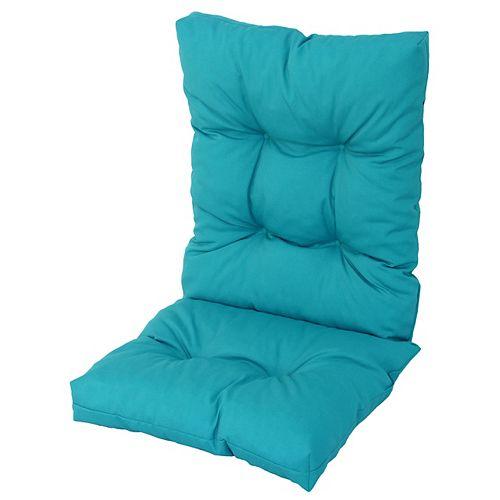 High Back Cushion Blue
