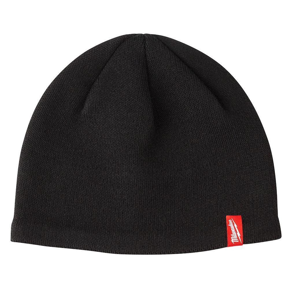 Milwaukee Tool Men's Black Fleece Lined Knit Hat