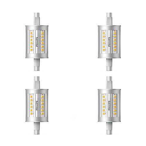 100W Equivalent Bright White 3000K T3 79mm LED Light Bulb (4-Pack) - ENERGY STAR