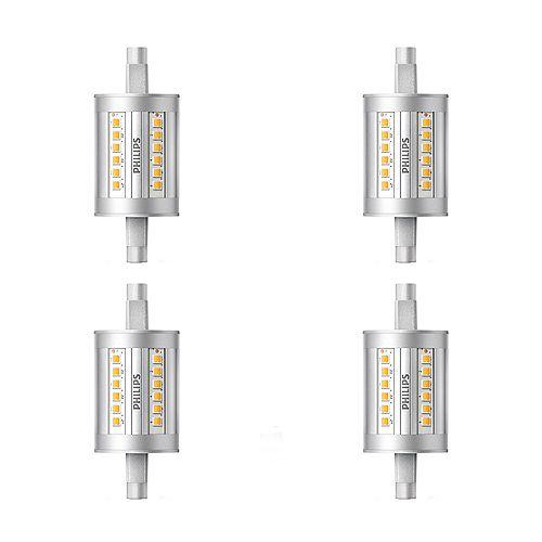 Philips DEL 100W T3 79mm Blanc Brillant(3000K) Non Grad - Cas de 4 Ampoules- ENERGY STAR®