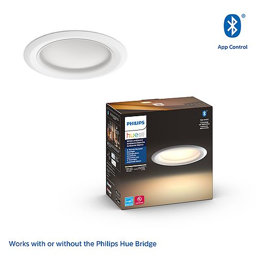 Hue White Ambiance  4 inch Retrofit Smart LED Downlight
