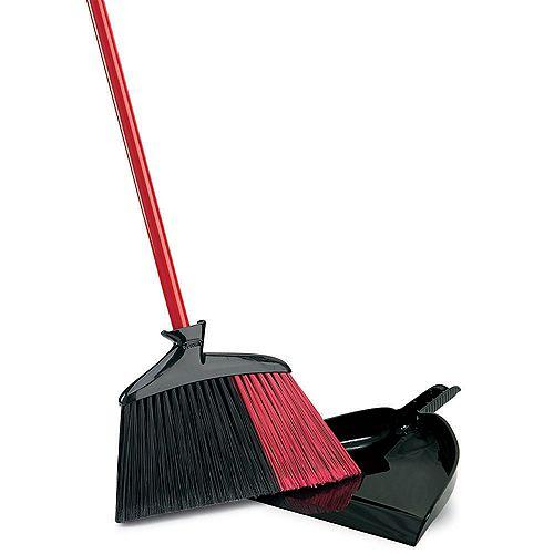 Indoor/Outdoor Broom with Dust pan