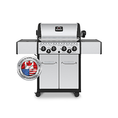 Cabinet 40,000 BTU Natural Gas BBQ in Stainless Steel