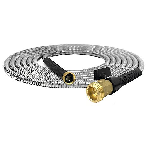 Bionic Steel Pro Stainless Steel 100ft. Garden Hose