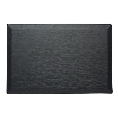 Tapis de série couture 24 x 36 x 3/4 pouces, noir
