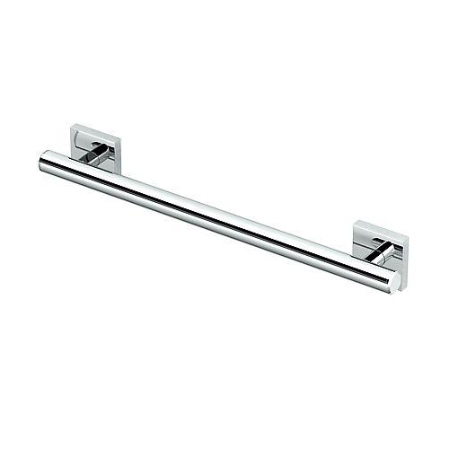 Gatco Elevate 18 inch L Grab Bar Chrome