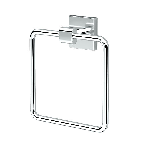 Elevate Towel Ring Chrome