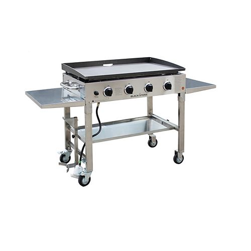 36-inch Stainless Steel Griddle Cooking Station