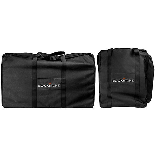 Heavy Duty Carry Bag Set for the Tailgater Combo Griddle and Grill (2-pack)