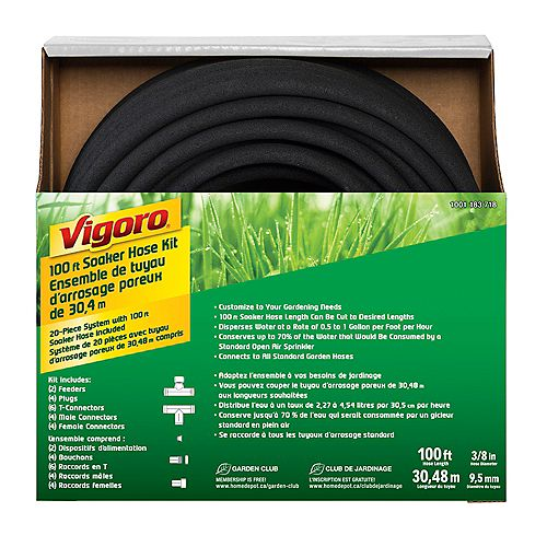 100 ft. Soaker Irrigation Kit