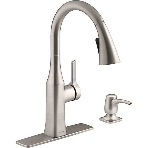 Rubicon Pull-Down Kitchen Faucet in Vibrant Stainless