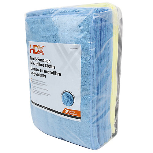 16-inch x 12-inch Muti-Function Microfibre Cloth (30-Pack)