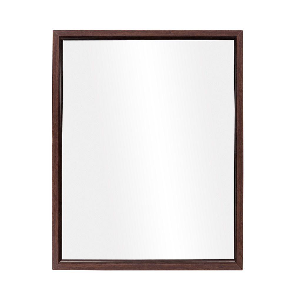 The Tangerine Mirror Company Ledge, Chestnut Mirror
