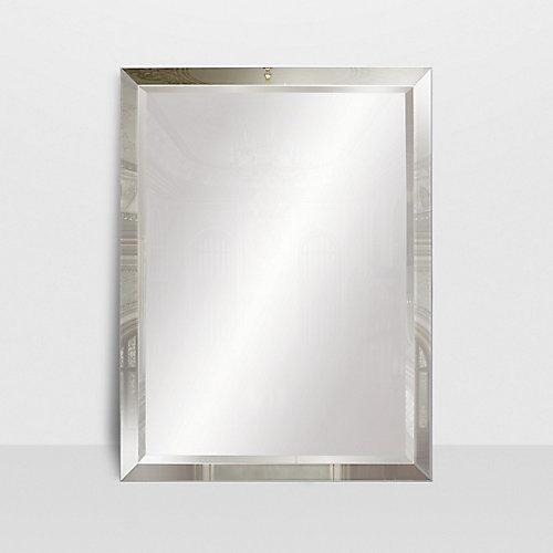 Le Royal, miroir encadré sur miroir 30x40 po.