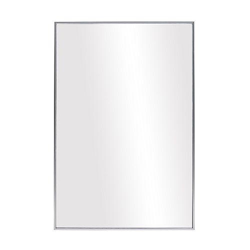 Infinity Satin Silver Vanity Mirror