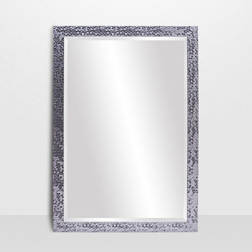 The Tangerine Mirror Company Builders Chrome Vanity Mirror
