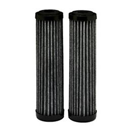 Premium carbon FACT Universal Replacement Water Filters, 2.5 inch x 10 inch (2-Pack)