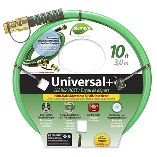 Element 1/2-inch x 10 ft. Universal Hose
