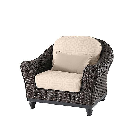 Camden ensemble de 2 chaises loungues  - marron fonce