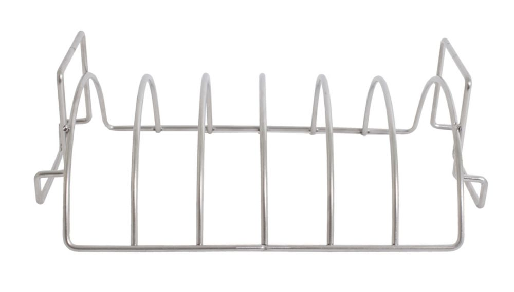 Reversible Six-Slab Rib Rack and Roasting Rack