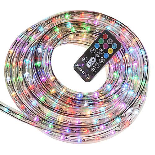 Cordon lumineux DEL avec télécommande