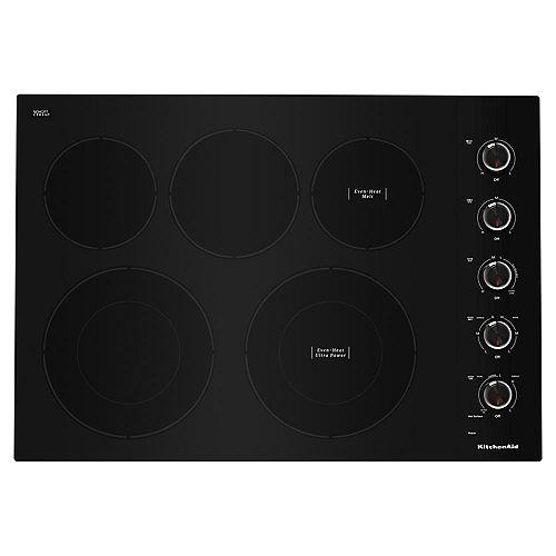 30-inch Electric Cooktop, 5 Elements