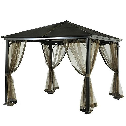 Replacement Mosquito Netting for L-GZ340PST-3D-E Birmingham PC Hardtop Gazebo