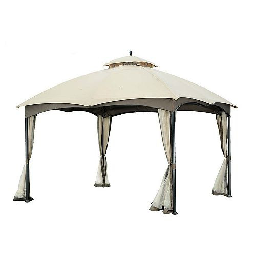 Replacement Canopy set for L-GZ933PST 10X12 Bellagio/Biscayne  Gazebo - Beige