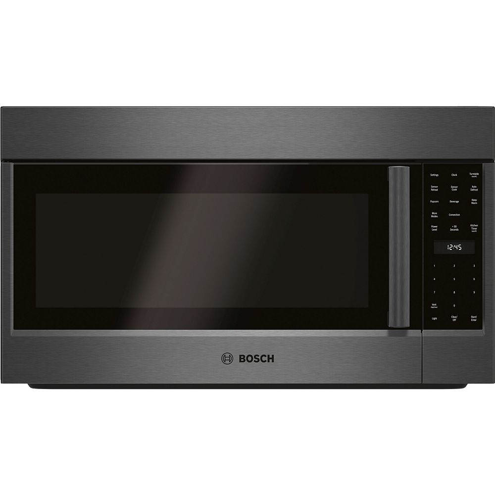Bosch 800 Series - Over-The-Range Microwave - Black Stainless Steel